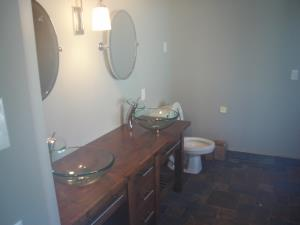 The next 4 pictures are of what can be done for a Master Bathroom remodel.  A His & Hers master vanity r/h view.    1of 4