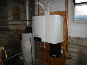 This Boiler will save the Congregation Hundreds of dollars in annual heating Operation.   3 of 3